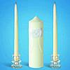 """Набор свадебных свечей """"Семейный очаг"""" (арт. EL-2109-1)"""
