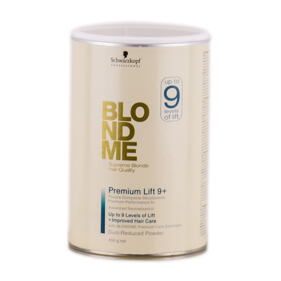 Осветляющая пудра Schwarzkopf Professional BlondMe Premium Lift 9+