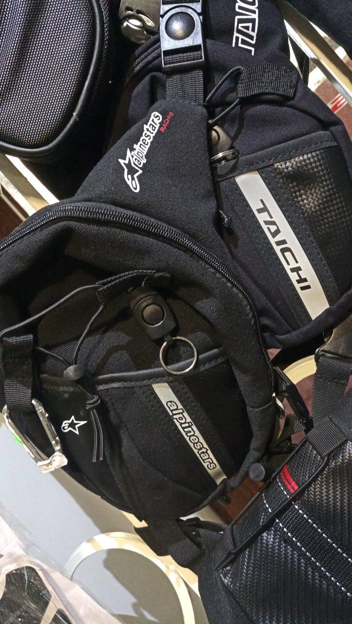 Мото сумка текстильная поясная набедренная Dainese