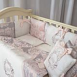 Комплект Fiori розовый, фото 4