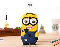 Резиновый 3D чехол для Huawei Honor 3C Lite Миньон