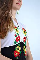 Вышитая женская футболка  646 (Л.Л.Л)