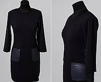 """Элегантное женское платье ткань """"Креп-дайвинг"""" 42, 44 размер норма"""