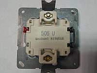 Выключатель одноклавишный маршевый (проходной) Jung 506U механизм