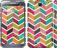 "Чехол на Samsung Galaxy Note 2 N7100 Шеврон v3 ""1058c-17"""