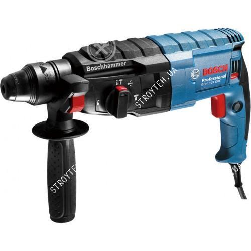 Перфоратор Bosch GBH 2-24 DRE + ключевой патрон с адаптером в подарок