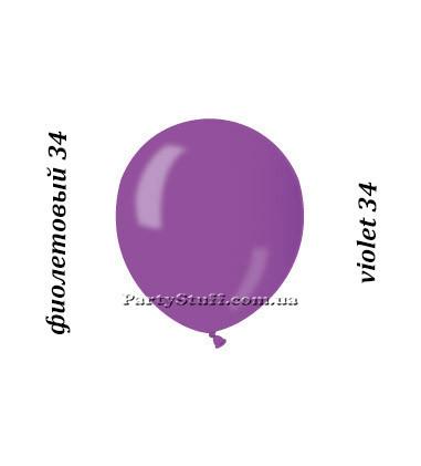 Воздушные шарики Gemar АМ50 металлик ФИОЛЕТОВЫЙ