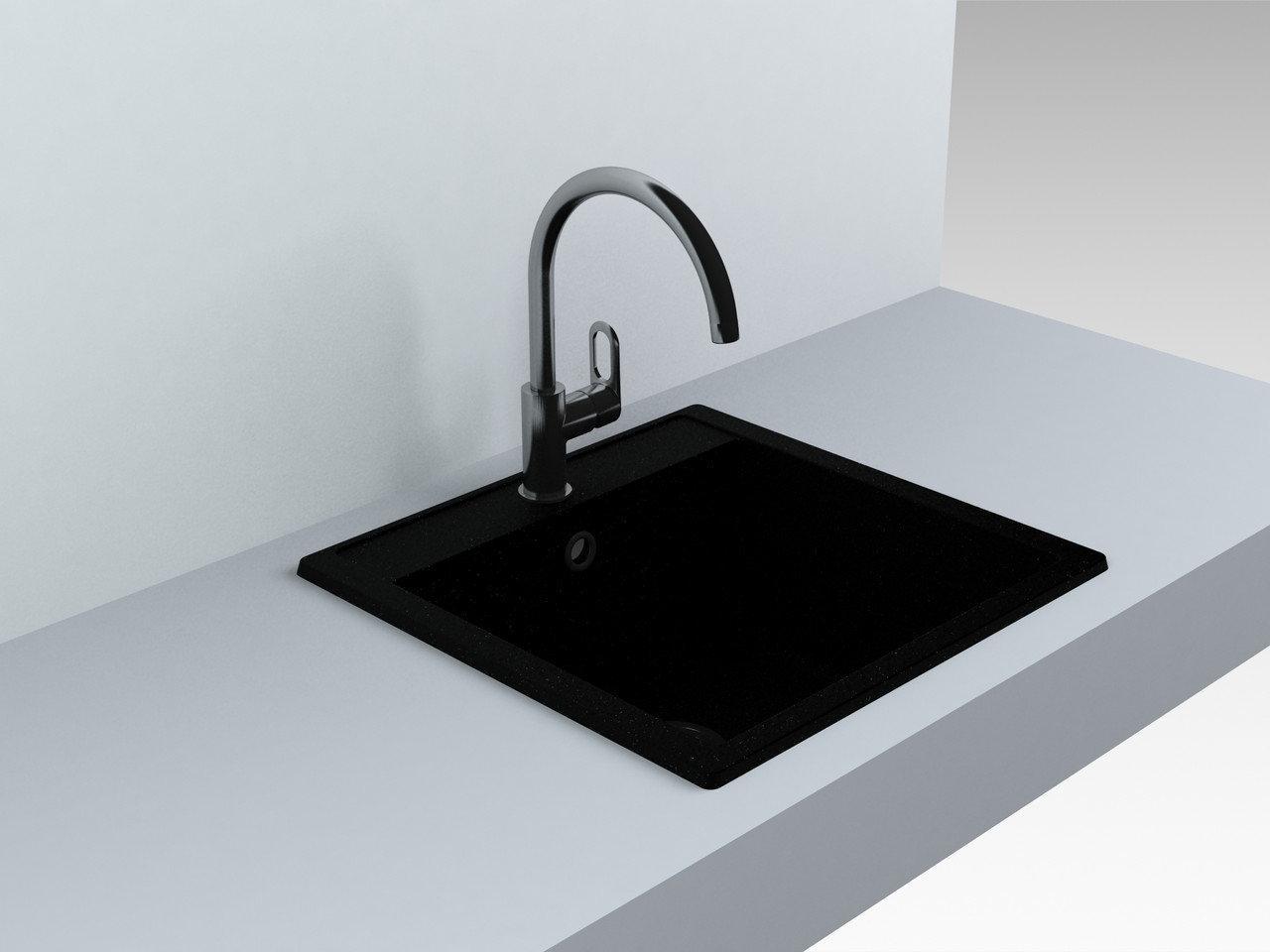 Кухонная мойка Miraggio Bodrum 510 Black
