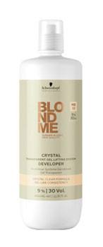 Прозрачный гель-окислитель Schwarzkopf Professional BlondMe Crystal Transparent Gel 9%
