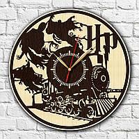 Гарри Поттер с дерева Часы в комнату подростка Декор с древесины Часы на стену Бесшумные часы Часы с фильма
