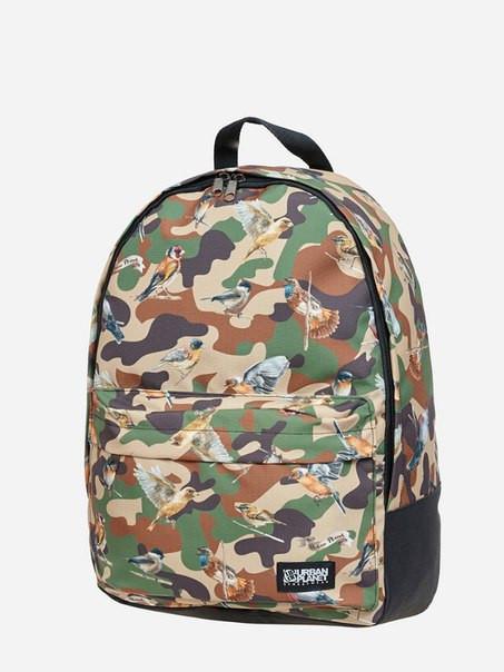 Рюкзак, BIRDS CAMO, сумка-рюкзак, рюкзак с рисунком