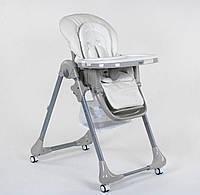 Стульчик для кормления Toti CB-4018, мягкий вкладыш, 4 колеса, съемный столик, фото 1