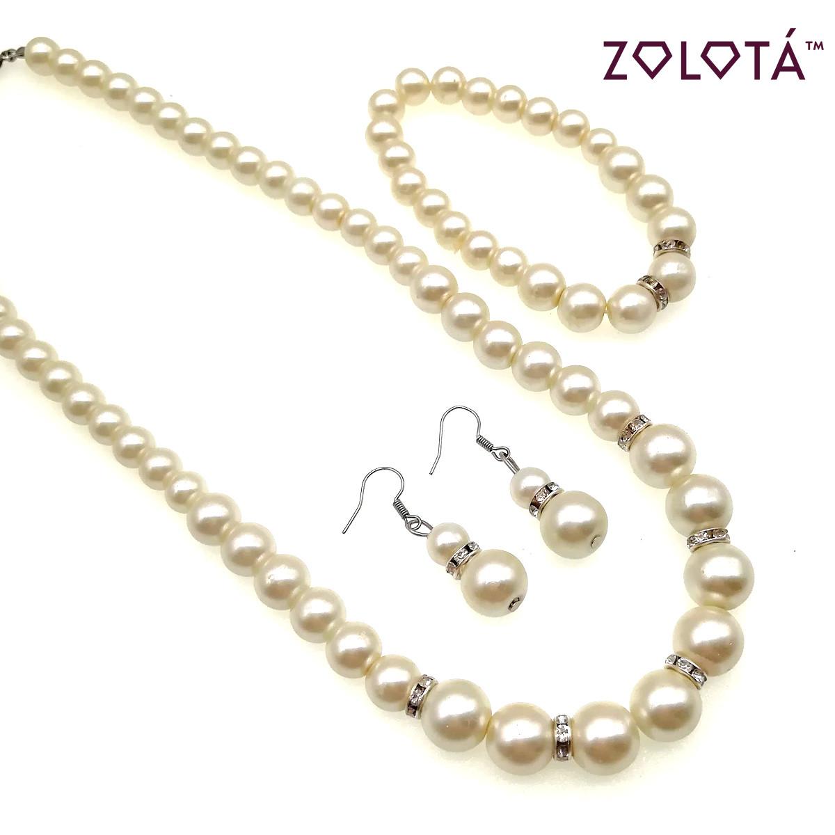 Комплект з майорки кремово-білого кольору, НБ00230 (1)