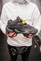 """Мужские кроссовки Adidas Yeezy 500 «Utility Black"""""""