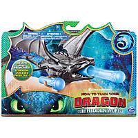 Фигурка браслет пускатель дракон Беззубик Как приручить дракона DreamWorks Dragons Toothless Wrist Launcher
