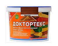 Лазурь-лак антисептический ІРКОМ ДОКТОРТЕКС ІР-013 для древесины каштан 3л