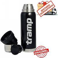 Термос Tramp 0.75л. TRC-031 чорний. Термосы термокружки. Термос трамп