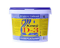 Клей ІРКОМ ПВА D3 FINNDISP столярный 3кг