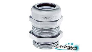 SKINTOP® MS-M, M63 plus x1,5 латунный кабельный сальник IP68. Водонепроницаемый ввод. Кабельный ввод.
