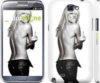 "Чехол на Samsung Galaxy Note 2 N7100 Heidi Klum ""817c-17"""