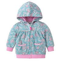 Детская кофта для девочки Розовые цветы Berni