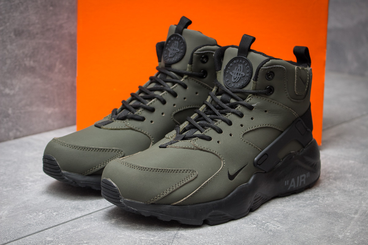 Зимние ботинки Nike Air, хаки (30295) размеры в наличии ►(нет на складе)