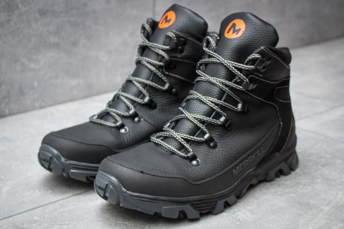 Зимние мужские ботинки 30342, Merrell Shiver, черные ( нет в наличии  )