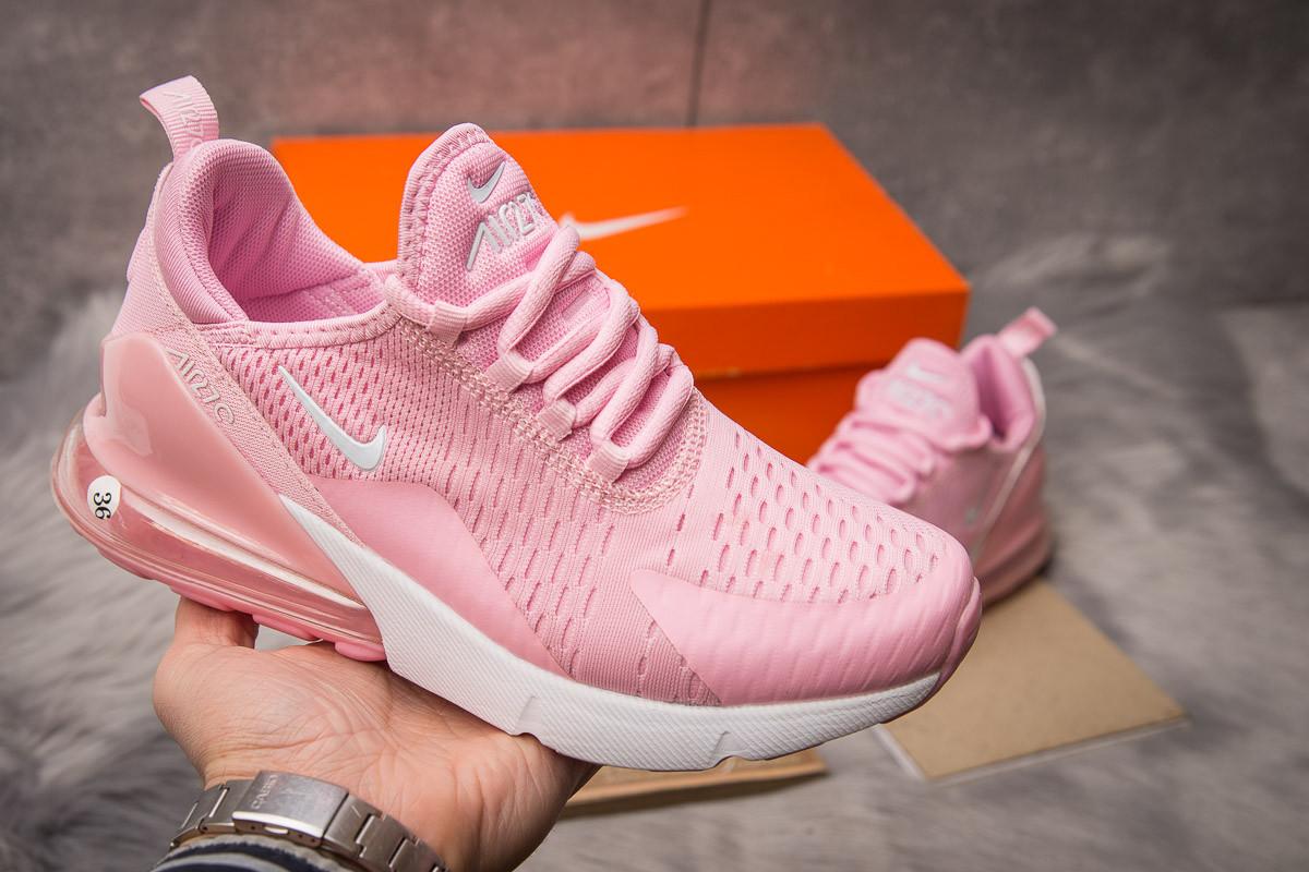 Кроссовки женские Nike Air 270, розовые (15083) размеры в наличии ►(нет на складе)