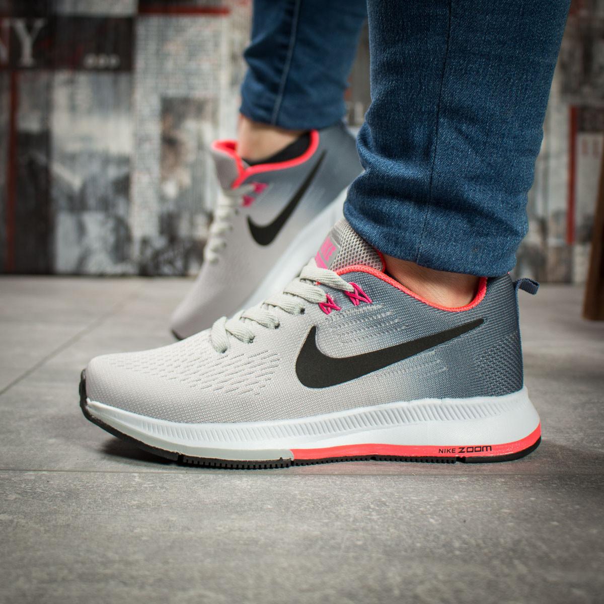 Кроссовки женские Nike Zoom Pegasus, серые (16032) размеры в наличии ►(нет на складе)