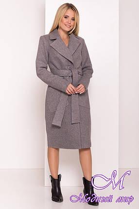Женское кашемировое осеннее пальто (р. S, M, L) арт. Г-43800/78-72, фото 2