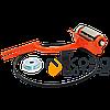 Насадка кородер на бензопилу GL 45/52 (оранжевая) (100мм) БОЛЬШАЯ