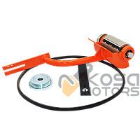 Насадка кородер на бензопилу GL 45/52 (оранжевая) (100мм) БОЛЬШАЯ, фото 1