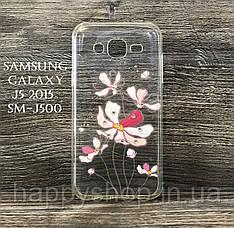 Силиконовый чехол для Samsung Galaxy J5 2015 (SM-J500) Iris