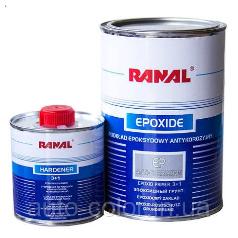 Грунт епоксидний RANAL 3+1 0,75+0,25 л відп.