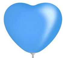 10 дюймов/25 см Сердце Пастель DARK BLUE 100 шт/уп