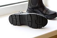 Спортивные кожаные черные челси, фото 7