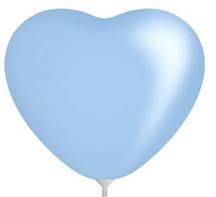 10 дюймов/25 см Сердце Пастель LIGHT BLUE 100 шт/уп
