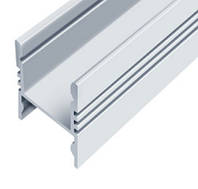 Профиль алюм. для LED ленты накладной ЛПС17