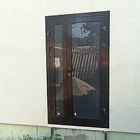 Входные алюминиевые двери для частных домов