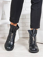 Ботинки Oliver черная кожа, фото 1