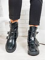 Ботинки натуральная кожа пряжки, фото 1
