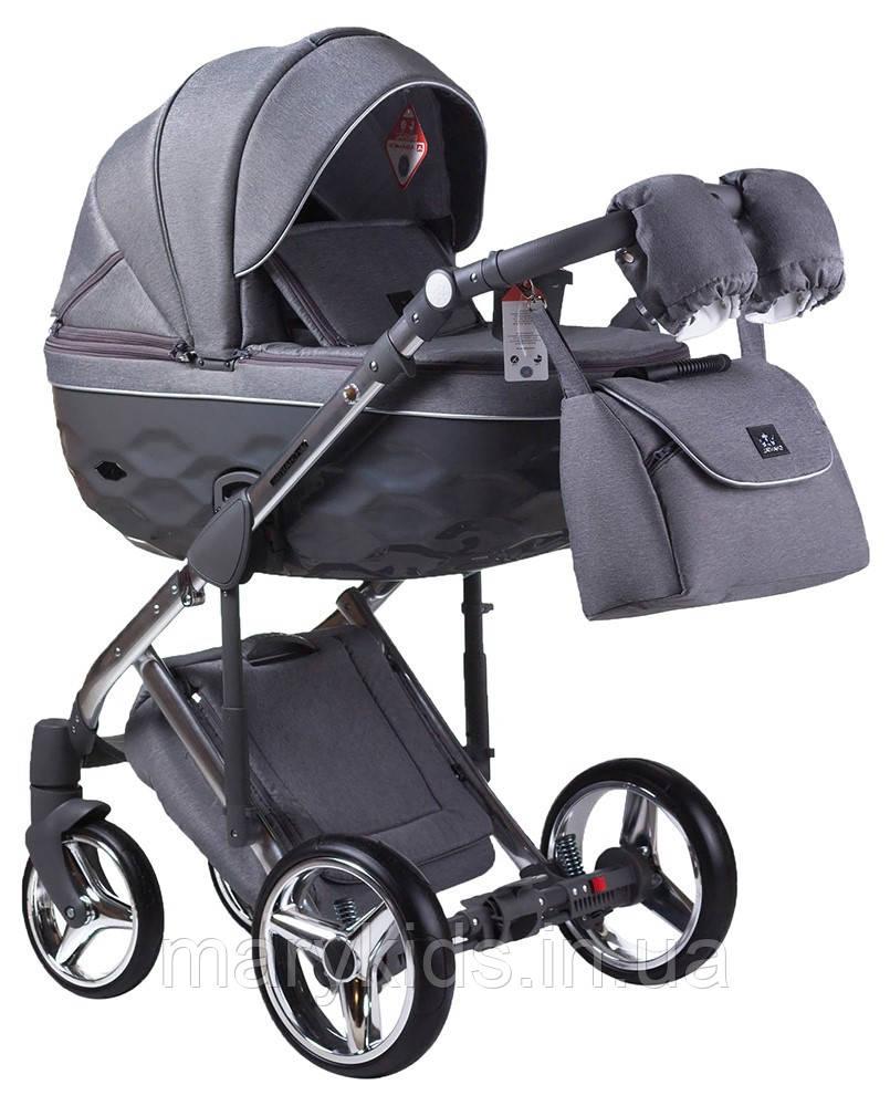 Детская универсальная коляска 2 в 1 Adamex Chantal C4