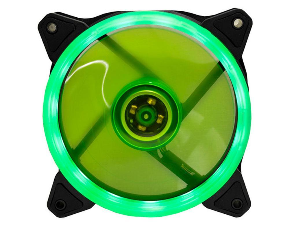Вентилятор (кулер) для корпусу Cooling Baby 120мм LED Green 12025HBGL-1