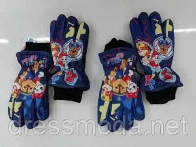 Перчатки лыжные для мальчиков Paw Patrol 3-8 лет