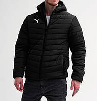 Куртка мужская зимняя до -25*С  в стиле Puma BMW X-black