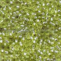 Бісер Preciosa Чехія №78153 світлий зелений, блискучий
