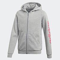 Детский джемпер Adidas Linear Hoodie (Артикул: EH6125)