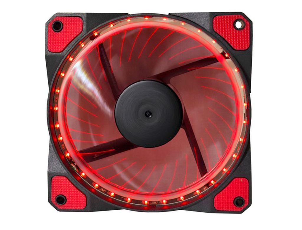 Вентилятор (кулер) для корпусу Cooling Baby 120мм LED Red 12025HBRL-33