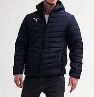 Куртка мужская зимняя до -25*С  в стиле Puma BMW X-navy