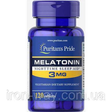 Puritan's Pride Melatonin 3 mg 120 tab